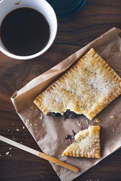chocolate filled hand pie.  katie christ food stylist