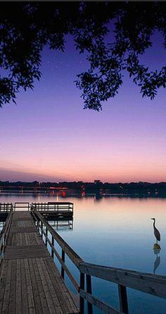 Lake Nokomis in Minneapolis, Minnesota • photo:  MNFISH on Flickr