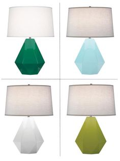 Robert Abbey Delta Lily Table Lamps