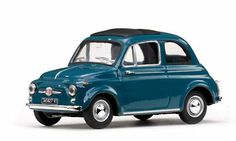 Fiat 500D diecast model in 1/43 scale by Vitesse in Blue! £19.99