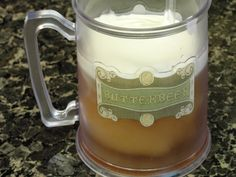 Harry Potter Birthday Party: Frozen Butterbeer Recipe