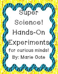 Super Science: Hands on Centers and Experiments $