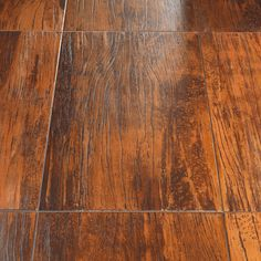 Wood and Metal Ceramic Tiles - Lignite from Tagline