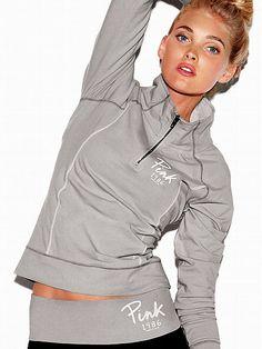 Yoga Half-Zip - Victoria's Secret PINK - Victoria's Secret
