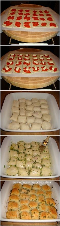 Stuffed Pizza Rolls