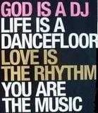 You are the music, God is a DJ, Pink