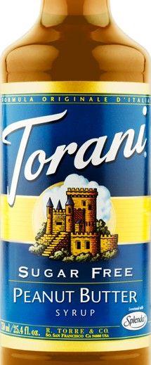 Sugar Free Peanut Butter Torani Syrup