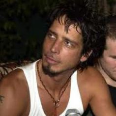 Chris Cornell lead singer of Soundgarden.