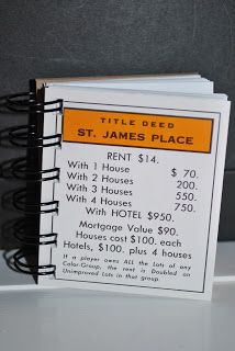 Monopoly Notebooks