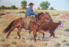 Earl Kuhn, Cowboy Artist, named America's Horse in Art Signature Artist!