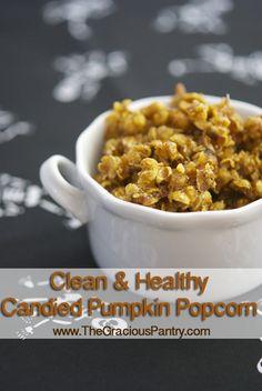 Candied Pumpkin Popcorn