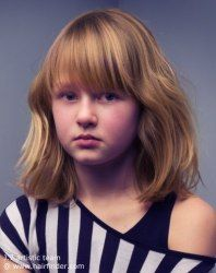 young girl, kid hairstyl