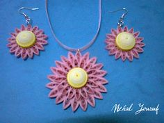 Nehal Quilling: jewelry.....I love this!!!