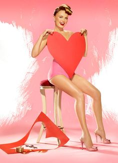 pin up vintage valentines, valentine day, pinup style, paper hearts, matthew rolston, ruby slippers, pin up looks, photo shoots, pin up girls