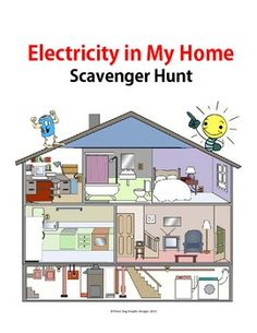 I created this activity to get my students thinking about the many uses of electricity in our homes. Students use scavenger hunt worksheet to learn more about the many devices in their homes that use electricity. $