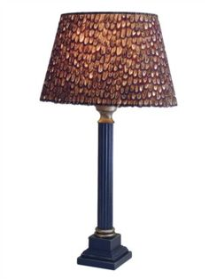 pheasant feather lampshade