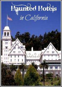 Haunted Hotels in California