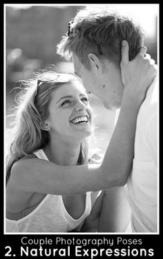 2. Capture Natural Expressions. Place the couple close together and then capture that natural expression of love like the beautiful smile that makes this photo stand out. By Damian Lovegrove.