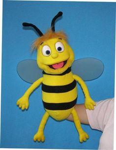 Bee  ,  foam puppet doll