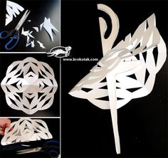 SNOWFLAKE BALLERINAS plus printable templates