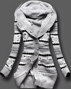 Love! Full Sleeves Norwegian Style Sweater