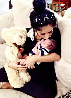 We love Snooki and baby Lorenzo!