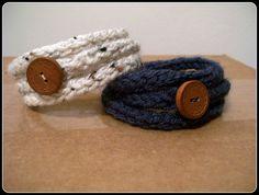 Crochet Cord Bracelet