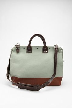 canvas doctor bag.