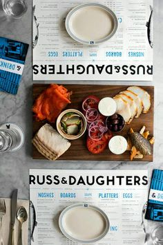 New York | Russ and Daughters • 127 Orchard Street – are you hungry yet?  / via design*sponge food style, russ and daughters, russ & daughters, food styling, orchard street