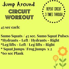 Jump Around: A Lower Body Circuit from Sinful Nutrition