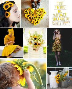 Mood Board Monday: Sunflowers (http://blog.hgtv.com/design/2014/03/10/mood-board-monday-sunflowers/?soc=pinterest)