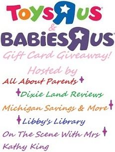 All About Parents Birthday Extravaganza! $140 to each Babies 'R' Us & $140 to Toys 'R' Us! One winner gets both!