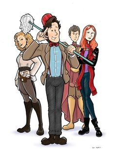 The 11th Doctor, & Co.