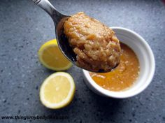 Brown Sugar Lemon Curd