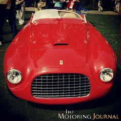 166mm Touring Barchetta. YES! It's a Ferrari.