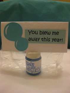 End of the year student gift idea.