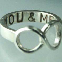 this would be a cute promise ring