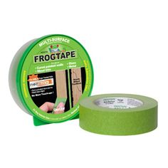 FrogTape Painter's Painting Masking Tape keeps all the paint out.