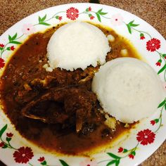Puttu and KingFish Curry