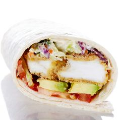 Crunchy Fish and Creamy Coleslaw Wraps  #BiteMeMore #FeedMe