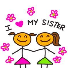 Yup! I do love my sissy!