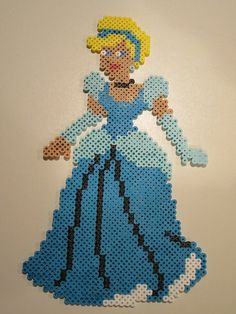 Cinderella by perlerbeadcrafts, via Flickr