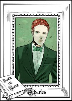 Charles Fairchild - released on Cassandra Clare's Tumblr - drawn by Cassandra Jean