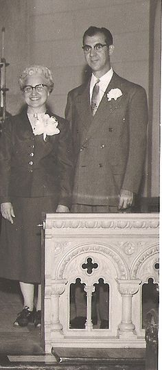 My mom and stepdad, Oct. 20, 1956