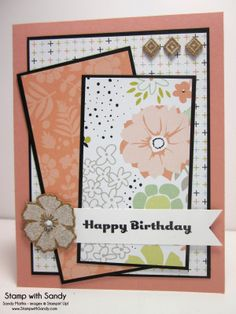 Stamp With Sandy: Sweet Sorbet Birthday