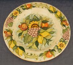 Plate #52 comes in sizes 35cm, 43cm & 48cm all of our terracotta is on our website www.romeocuomoceramics.com