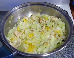 HCG Recipe – Phase 2: Sweet 'n Tangy Chinese Chicken Salad « Cabbage Recipes « Steph's Universe – My HCG Journey