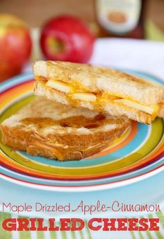 Apple-Cinnamon Grilled Cheese Sandwiches - Our Best Bites