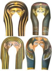 Egypt party masks