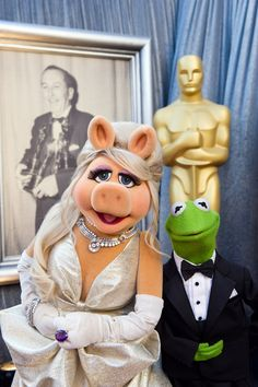 Miss Piggy looking Glamorous in Fred Leighton Jewels